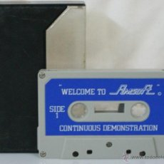 Videojuegos y Consolas: AMSTRAD *** CASETE VIDEOJUEGO WELCOME TO AMSOFT (CONTINUOUS DEMONSTRATION) *** . Lote 54155813