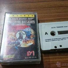 Videojuegos y Consolas: JUEGO AMSTRAD CASSETTE ALTA TENSION JAMES BOND 007 . Lote 54189550