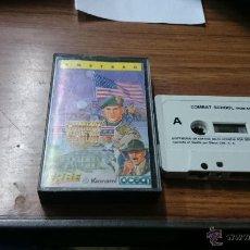 Videojuegos y Consolas: JUEGO AMSTRAD COMBOT SCHOOL 1987 CASETE. Lote 54201891