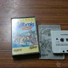 Videojuegos y Consolas: JUEGO AMSTRAD CALIFORNIA GAMES CASETE. Lote 54214418