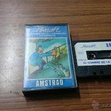 Videojuegos y Consolas: JUEGO AMSTRAD EL HOMBRE DE LA LLAVE INGLESA SPANNERMAN CASETE. Lote 54248505