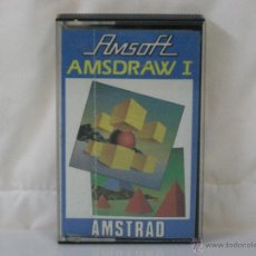 Videojuegos y Consolas: AMSTRAD *** CASETE AMSDRAW 1 *** AMSOFT *** PRODUCIDO POR INDESCOMP. Lote 54288474