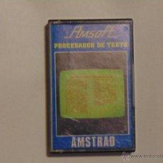 Videojuegos y Consolas: JUEGO AMSTRAD PROCESADOR DE TEXTO AÑO 1985. Lote 54295150