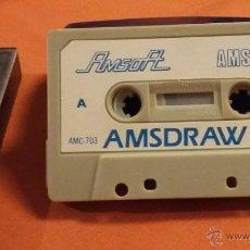 Videojuegos y Consolas: AMSDRAW I - DISEÑADOR GRAFICO AMSTRAD CASSETTE. Lote 54596296