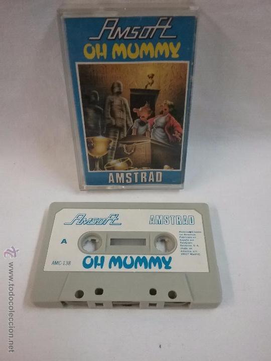 JUEGO VIDEOJUEGO PARA AMSTRAD - OH MUMMY (Juguetes - Videojuegos y Consolas - Amstrad)