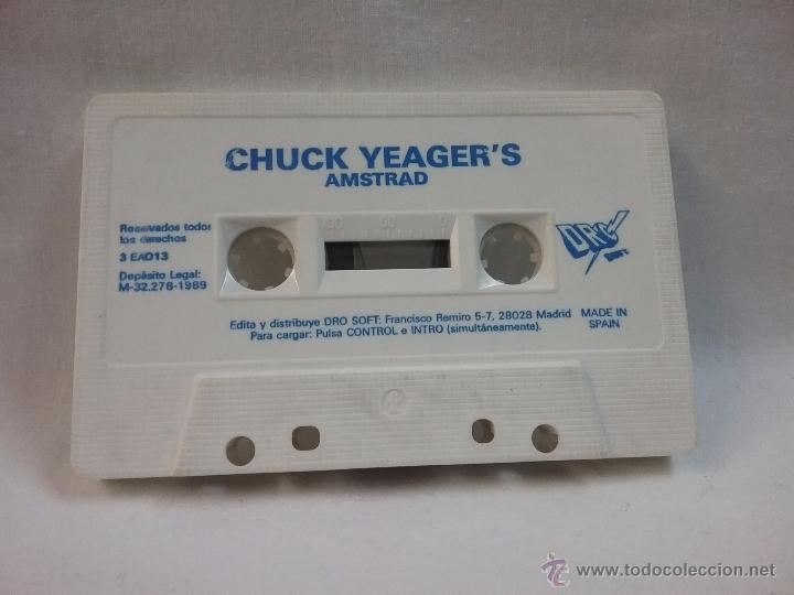 JUEGO VIDEOJUEGO PARA AMSTRAD CHUCK YEAGER'S (Juguetes - Videojuegos y Consolas - Amstrad)