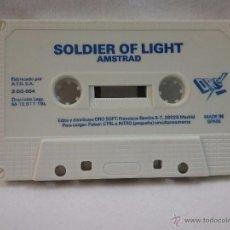 Videojuegos y Consolas: JUEGO VIDEOJUEGO PARA AMSTRAD SOLDIER OF LIGHT - MADE IN SPAIN . Lote 54991895