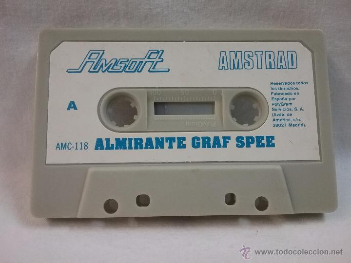 JUEGO VIDEOJUEGO PARA AMSTRAD ALMIRANTE GRAF SPEE - FABRICADO EN ESPAÑA (Juguetes - Videojuegos y Consolas - Amstrad)