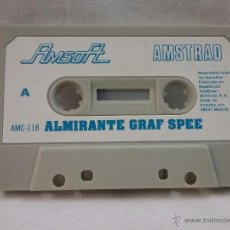 Videojuegos y Consolas: JUEGO VIDEOJUEGO PARA AMSTRAD ALMIRANTE GRAF SPEE - FABRICADO EN ESPAÑA . Lote 54991906