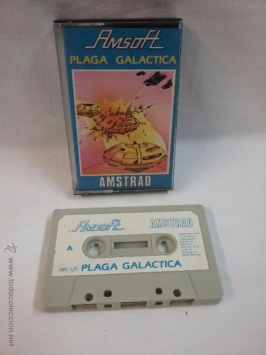 JUEGO VIDEOJUEGO PARA AMSTRAD PLAGA GALÁCTICA (Juguetes - Videojuegos y Consolas - Amstrad)