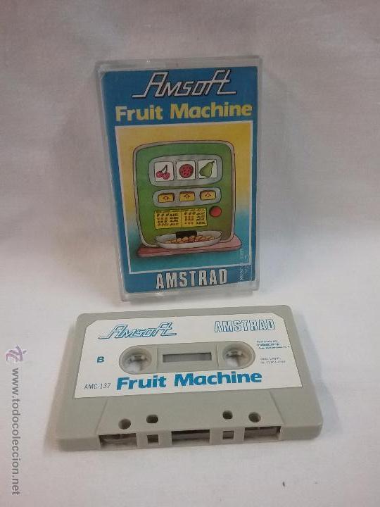 JUEGO VIDEOJUEGO PARA AMSTRAD FRUIT MACHINE (Juguetes - Videojuegos y Consolas - Amstrad)