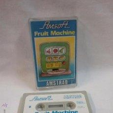 Videojuegos y Consolas: JUEGO VIDEOJUEGO PARA AMSTRAD FRUIT MACHINE . Lote 54992029