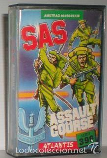 SAS ASSAULT CURSE [ATLANTIS SOFTWARE] 1986 ZAFIRO SOFTWARE ZCOBRA [AMSTRAD CPC] (Juguetes - Videojuegos y Consolas - Amstrad)