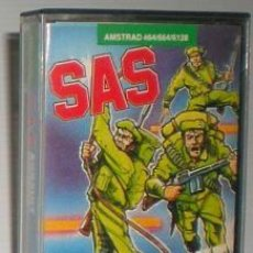 Videojuegos y Consolas: SAS ASSAULT CURSE [ATLANTIS SOFTWARE] 1986 ZAFIRO SOFTWARE ZCOBRA [AMSTRAD CPC]. Lote 55102832