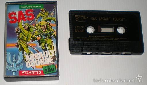 Videojuegos y Consolas: SAS Assault Curse [Atlantis Software] 1986 Zafiro Software ZCobra [AMSTRAD CPC] - Foto 2 - 55102832