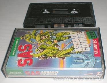 Videojuegos y Consolas: SAS Assault Curse [Atlantis Software] 1986 Zafiro Software ZCobra [AMSTRAD CPC] - Foto 5 - 55102832