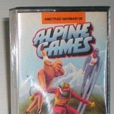 Videojuegos y Consolas: ALPINE GAMES [ATLANTIS] 1987 ZAFIRO SOFTWARE [AMSTRAD CPC]. Lote 55320102