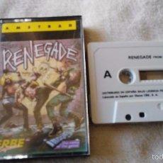 Videojuegos y Consolas: JUEGO AMSTRAD RENEGADE. Lote 55389434