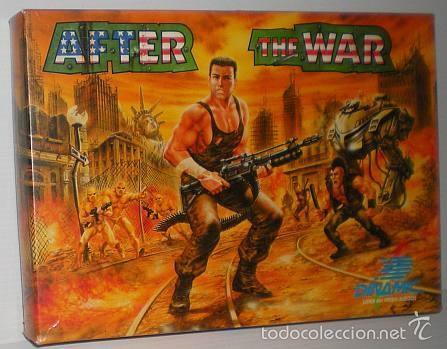 AFTER THE WAR [DINAMIC SOFTWARE] 1989 [AMSTRAD CPC DISCO] (Juguetes - Videojuegos y Consolas - Amstrad)