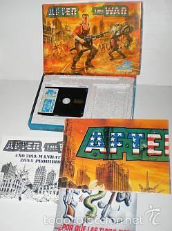 Videojuegos y Consolas: After The War [Dinamic Software] 1989 [AMSTRAD CPC Disco] - Foto 3 - 55803779