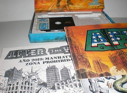 Videojuegos y Consolas: After The War [Dinamic Software] 1989 [AMSTRAD CPC Disco] - Foto 4 - 55803779