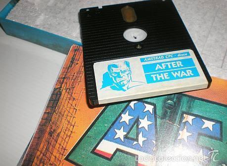 Videojuegos y Consolas: After The War [Dinamic Software] 1989 [AMSTRAD CPC Disco] - Foto 6 - 55803779