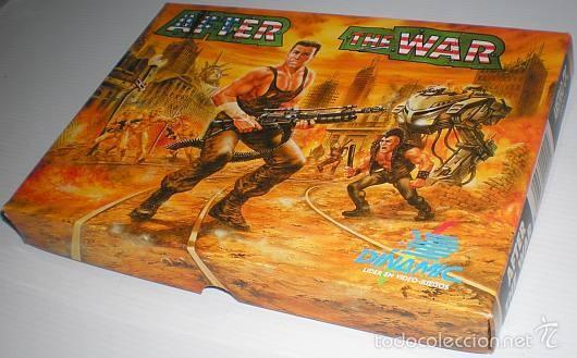 Videojuegos y Consolas: After The War [Dinamic Software] 1989 [AMSTRAD CPC Disco] - Foto 8 - 55803779