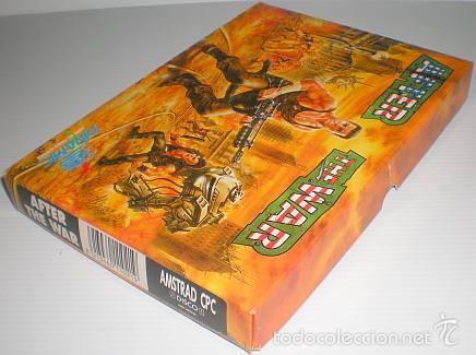 Videojuegos y Consolas: After The War [Dinamic Software] 1989 [AMSTRAD CPC Disco] - Foto 9 - 55803779