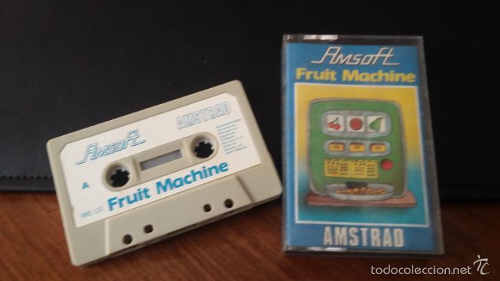 FRUIT MACHINE JUEGO AMSTRAD CASSETTE (Juguetes - Videojuegos y Consolas - Amstrad)