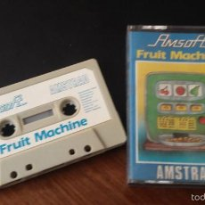 Videojuegos y Consolas: FRUIT MACHINE JUEGO AMSTRAD CASSETTE. Lote 56079070