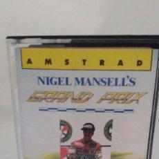 Videojuegos y Consolas: JUEGO AMSTRAD CASSETTE - NIGEL MANSELL'S GRAND PRIX. Lote 56111291