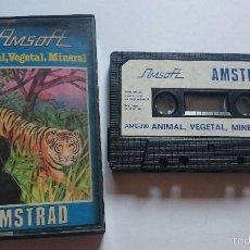 Videojuegos y Consolas: JUEGO ANIMAL, VEGETAL, MINERAL AMSOFT AMSTRAD CPC464 CPC 464. Lote 56376949