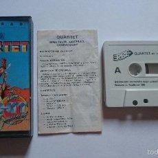 Videojuegos y Consolas: JUEGO QUARTET SEGA BY HIT SQUAT AMSTRAD CPC464 CPC 464. MUY DIFICIL.. Lote 56376978