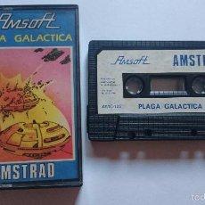 Videojuegos y Consolas: JUEGO PLAGA GALACTICA AMSTRAD CPC464 CPC 464. ESPAÑA. AMC 125. Lote 56377736