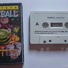 Videojuegos y Consolas: JUEGO WIZZBALL AMSTRAD ERBE CPC464 CPC 464. ESPAÑA. MUY RARO.. Lote 56377848