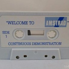 Videojuegos y Consolas: CASSETTE - WELCOME TO AMSTRAD. Lote 56469501