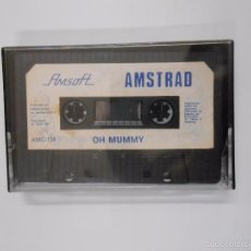 Videojuegos y Consolas: OH MUMMY - AMSTRAD. CASSETTE AMSOFT. TDKV8. Lote 56565533