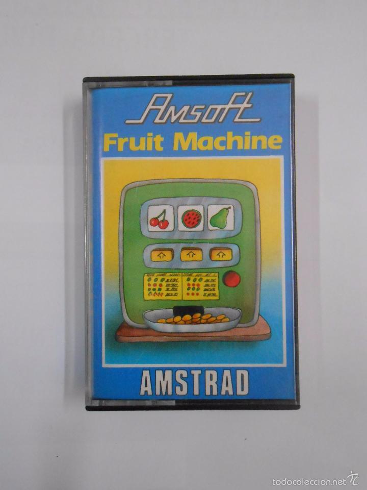 JUEGO AMSTRAD FRUIT MACHINE AMSOFT. TDKV8 (Juguetes - Videojuegos y Consolas - Amstrad)