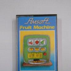 Videojuegos y Consolas: JUEGO AMSTRAD FRUIT MACHINE AMSOFT. TDKV8. Lote 56565557