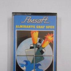 Videojuegos y Consolas: JUEGO AMSTRAD. ALMIRANTE GRAF SPEE . CASETTE AMSOFT. TDKV8. Lote 56565777