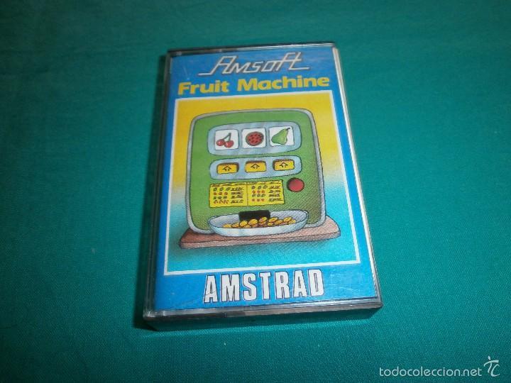 JUEGO AMSTRAD FRUIT MACHINE (Juguetes - Videojuegos y Consolas - Amstrad)