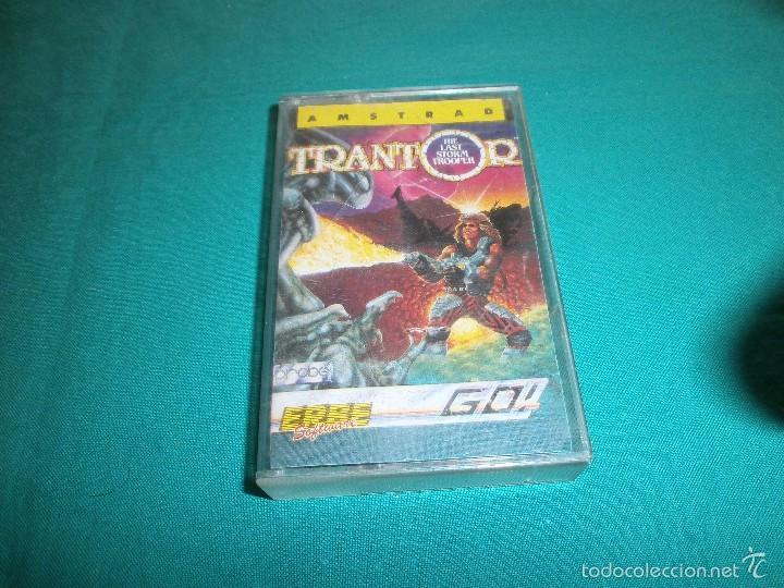 JUEGO AMSTRAD TRANTOR (Juguetes - Videojuegos y Consolas - Amstrad)