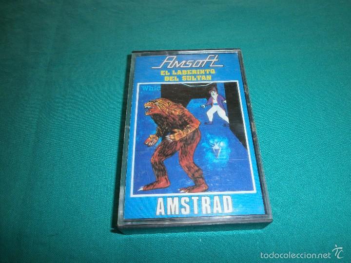 JUEGO AMSTRAD EL LABERINTO DEL SULTAN (Juguetes - Videojuegos y Consolas - Amstrad)