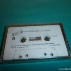Videojuegos y Consolas: JUEGO AMSTRAD LOS INTOCABLES. Lote 56894593