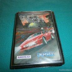 Videojuegos y Consolas: JUEGO AMSTRAD TURBO ESPRIT. Lote 56894611