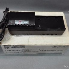 Videojuegos y Consolas: 918- AMSTRAD FIDELITY PS1 -VIDEOMATIC (AC ADAPTOR/ CHARGER)220/240V AC 50-60 HZ FOR USE - VMC 100. Lote 57216395