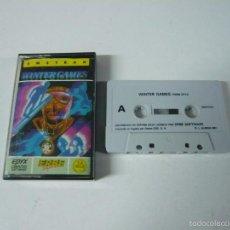 Videojuegos y Consolas: WINTER GAMES - AMSTRAD CPC 464 - CASSETTE - CLÁSICO - RETRO VINTAGE. Lote 57499526