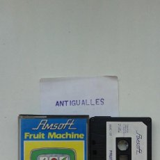 Videojuegos y Consolas: VIDEOJUEGO,PROGRAMA CINTA PC AMSTRAD AMSOFT FRUIT MACHINE. Lote 57551932