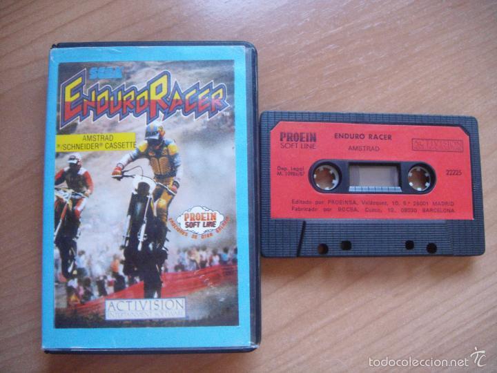 ENDURO RACER - AMSTRAD - CINTA CASETE (Juguetes - Videojuegos y Consolas - Amstrad)
