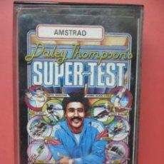 Videojuegos y Consolas: JUEGO AMSTRAD - DALEY THOMPSONS - SUPER TEST - . Lote 57687714